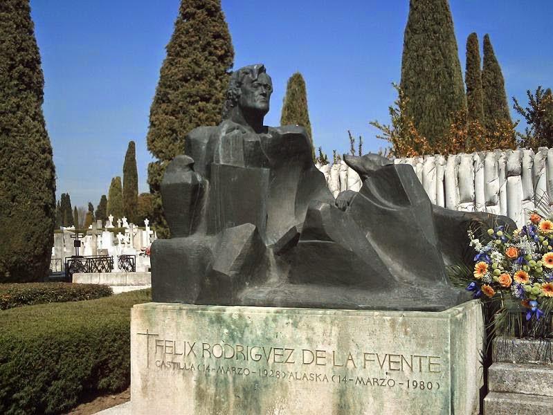 Cementerio dónde está Félix Rodríguez de la Fuente