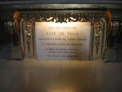Cementerio dónde está Lope de Vega