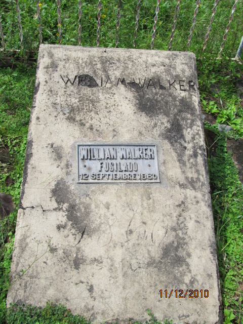 cementerio donde esta william walker